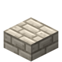Bleached Bone Brick Slab